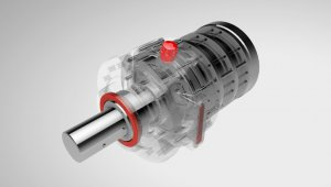 LEAX planetary gearboxes of the LPG series for the rubber- and plastics industry